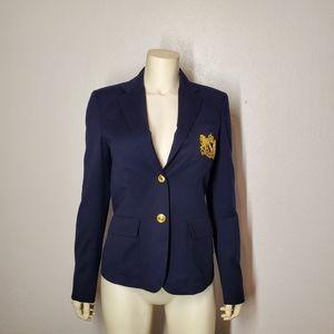 Ralph Lauren Blue Label Wool Crest Blazer